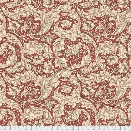 Bachelors Button Red from Morris & Co. Kelmscott for Freespirit Fabrics