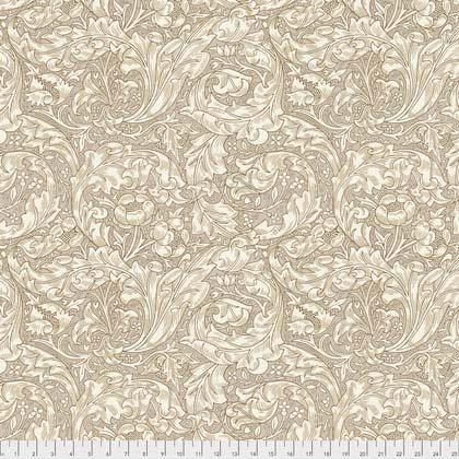 Bachelors Button Tan from Morris & Co. Kelmscott for Freespirit Fabrics