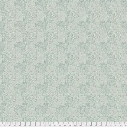 Marigold Aqua from Morris & Co. Kelmscott for Freespirit Fabrics