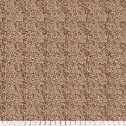 1 Yard 13 - Marigold Red from Morris & Co. Kelmscott for Freespirit Fabrics