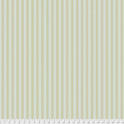 Gilt Stripe Aqua from Morris & Co. Kelmscott for Freespirit Fabrics