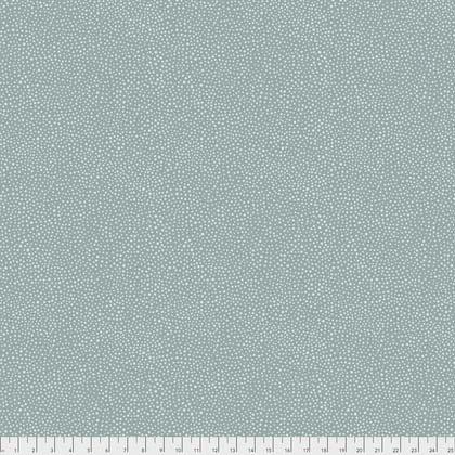Seaweed Dot Aqua from Morris & Co. Kelmscott for Freespirit Fabrics