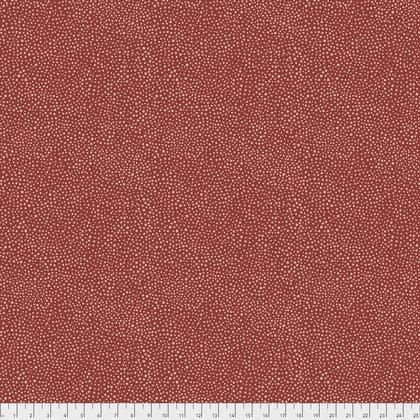 Seaweed Dot Red from Morris & Co. Kelmscott for Freespirit Fabrics