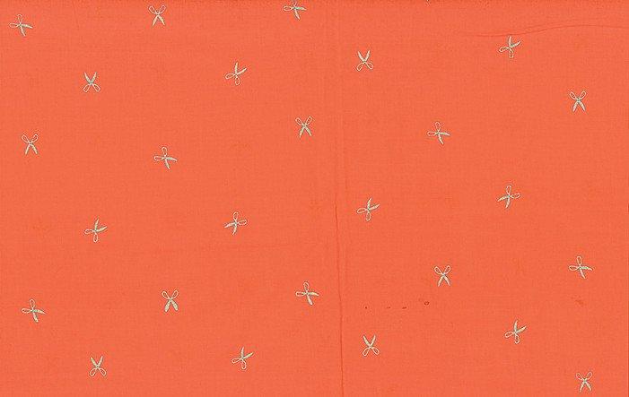 Hoffman Hand Dyed Batiks Scissors Mardi Gras/Silver