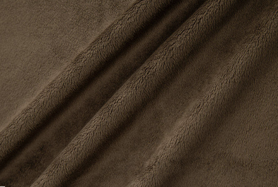 Cuddle Solid BROWN from Shannon Fabrics