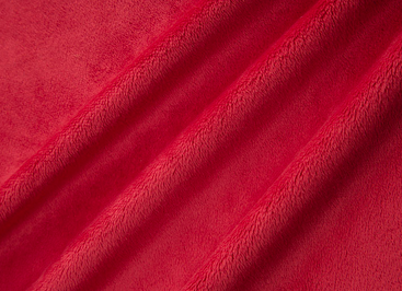 Cuddle Solid SCARLET from Shannon Fabrics