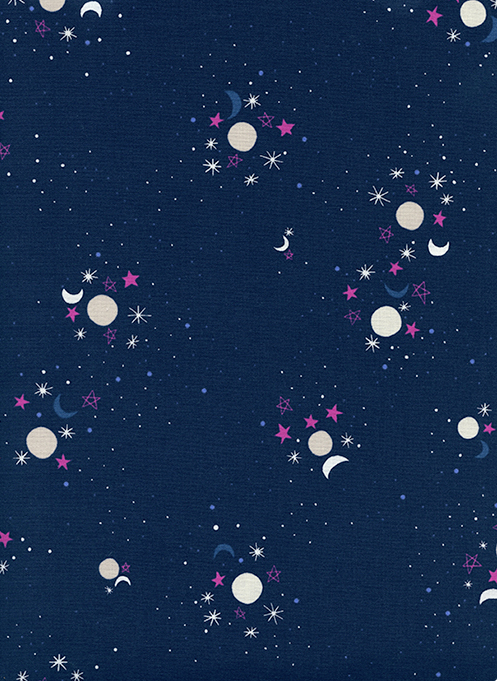 2 Yards 4 - Eclipse in Sun Moon Stars from Cotton + Steel