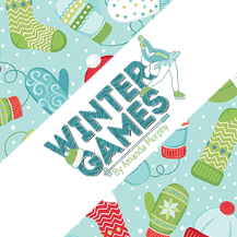 Winter Games by Amanda Murphy for Contempo - Charm Pack