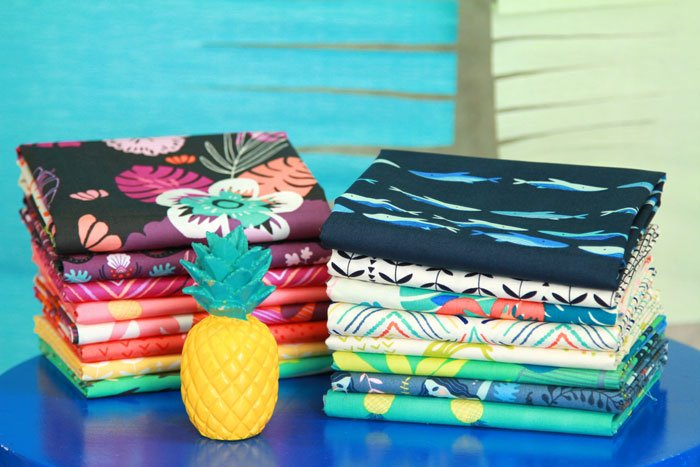 Sirena from Jessica Swift for Art Gallery Fabrics - Fat Quarter Bundle