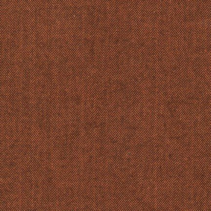 Shetland Flannel RUSSET from Robert Kaufman - SRKF-15614-180