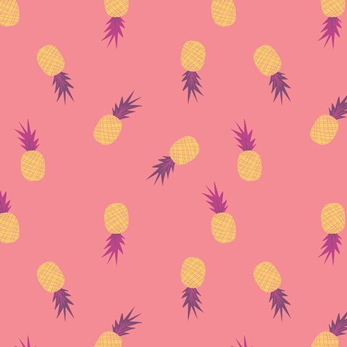 2 YARD 15 REMNANT - Ananas Sorbet from Sirena by Jessica Swift for AGF