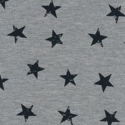 AVALANA Sweat Melange (Stars) by STOF Fabrics