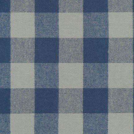 Tahoe Flannel BLUE from Robert Kaufman