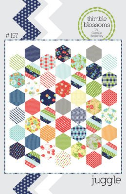 JUGGLE Quilt Pattern by Camille Roskelley from Thimble Blossoms