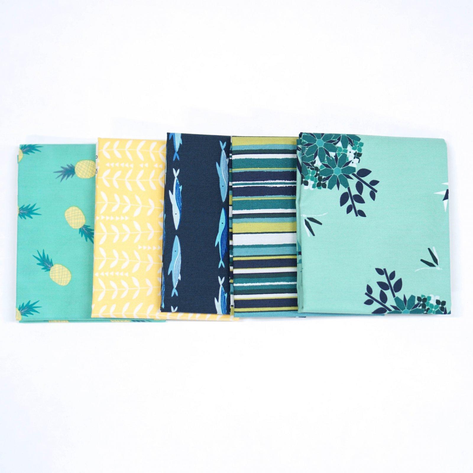 Summer Vibes- Crosscut Sewing Custom Bundle - (5) Half Yards