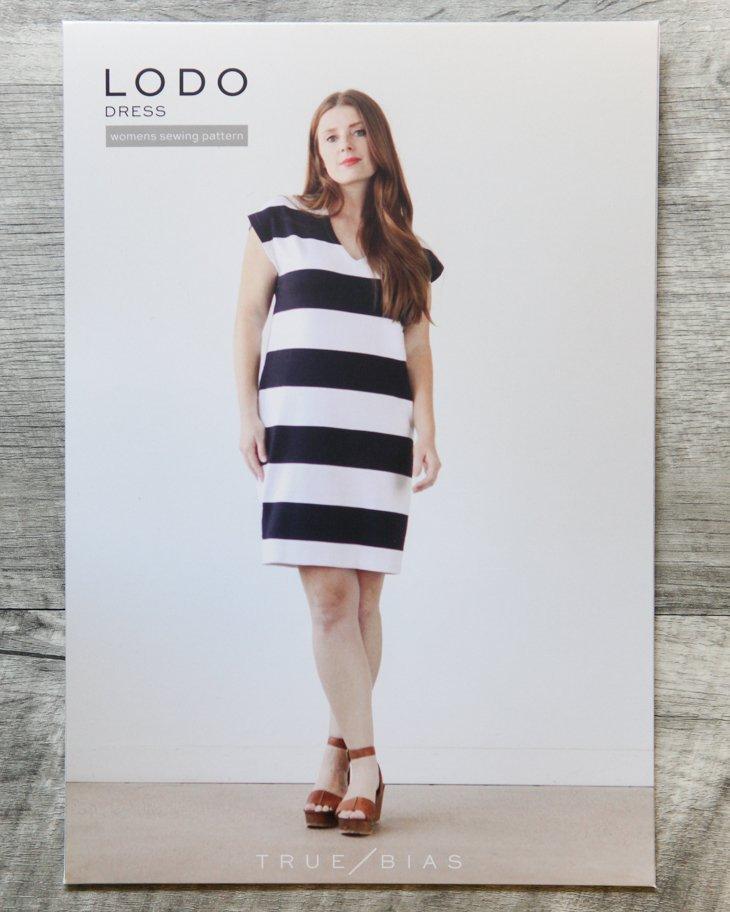 True Bias Patterns - Lodo Dress