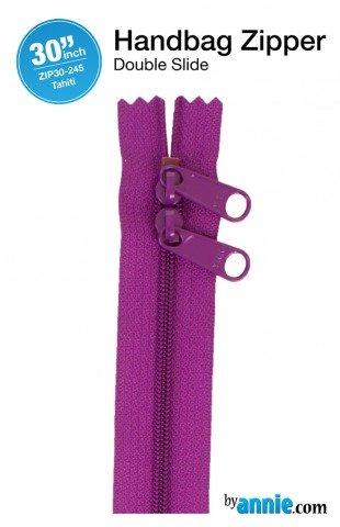 ByAnnie Double Slide Handbag Zipper 30