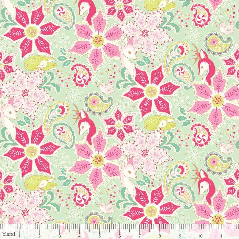 125102031  CHRISTMAS DEAR BY STACY PETERSON FOR BLEND FABRICS