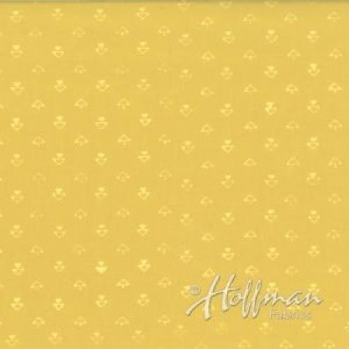 126 110 Daffodil a Batik for Hoffman Fabrics 100% cotton 44 wide