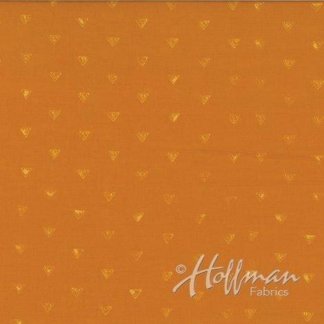 131 150 Sunflower Batik by Hoffman Fabrics 100% cotton 44 wide