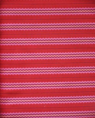 14010189 RED STRIPE INTRIGUE BY NANCY RINK FOR MARCUS FABRICS