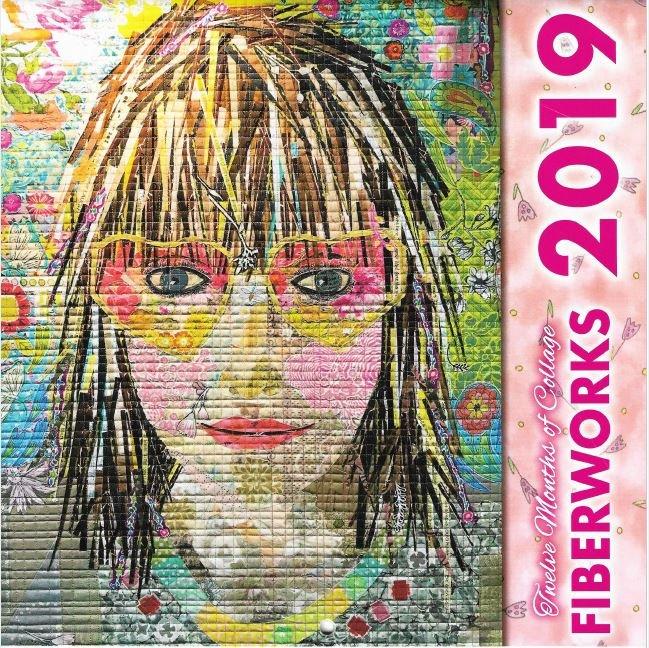 2019 Twelve Months of Collage Calendar