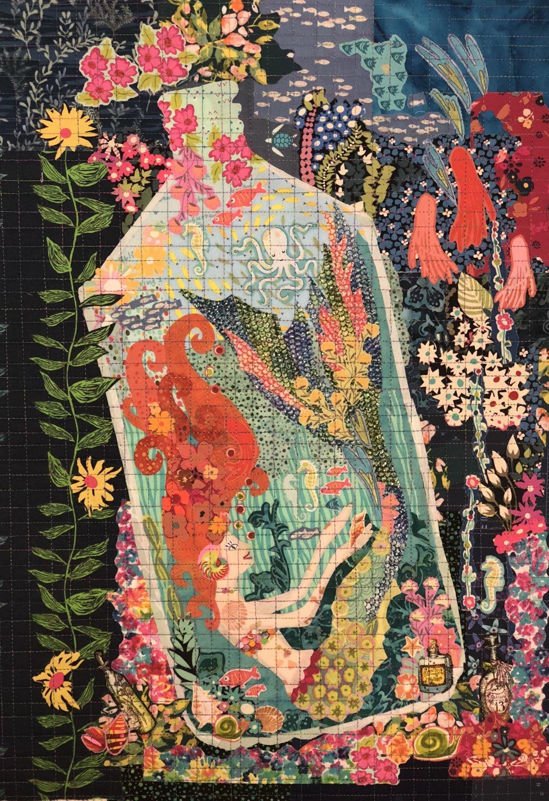 Teeny Tiny #4 Collage Kit Mermaid by Laura Heine