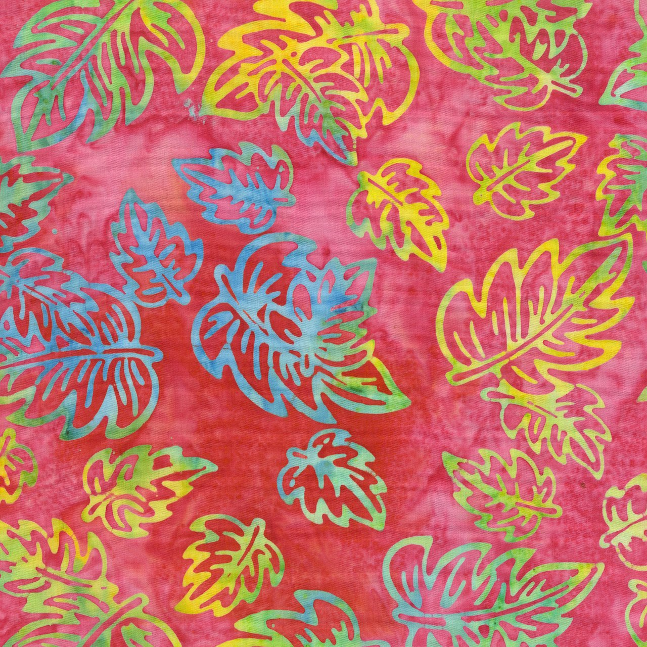 301Q 5  HOT PINK BATIK   JACQUELINE'S VISION FOR ANTHOLOGY  FABRICS