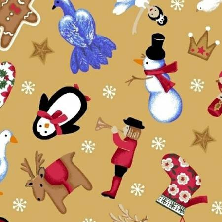 41641-4 O'Christmas Tree by Windham Fabrics 100% cotton 44 wide