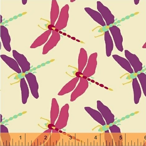 502353 BUTTERFLY DANCE BY SALLY KELLY FOR WINDHAM FABRICS