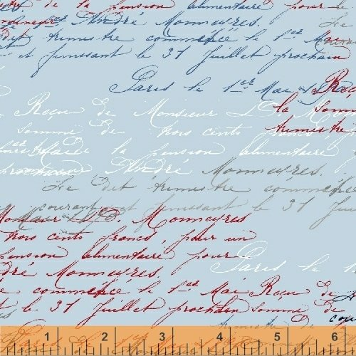 50587 1 LOVE FROM PARIS BY WHISTLER STUDIOS FOR WINDHAM FABRICS