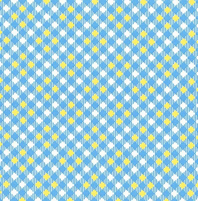 52487 4 Blue Pixy Plaid Five + Ten by Desnyse Schmidt for Windham Fabrics. 100% cotton 43 wide