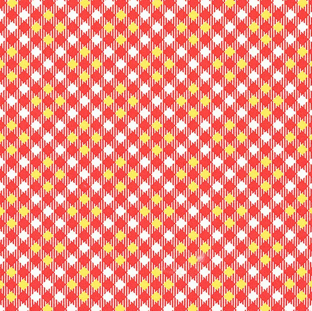 52487 9 Red Pixy Plaid Five + Ten by Desnyse Schmidt for Windham Fabrics. 100% cotton 43 wide