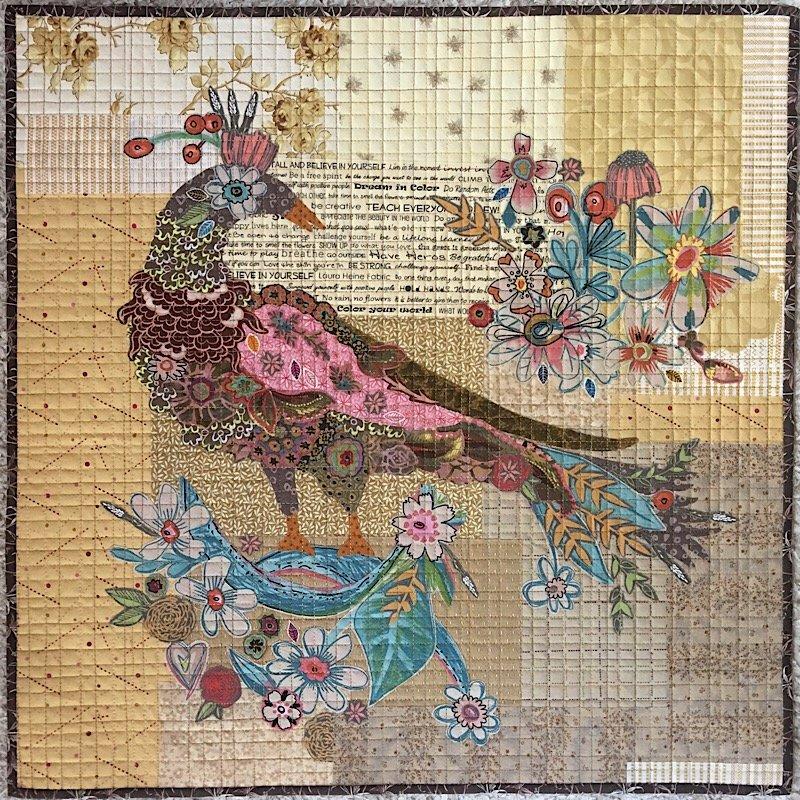 Pheasant Collage KIT by Laura Heine