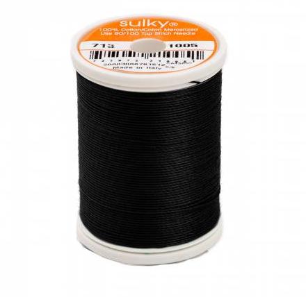 Sulky Blendables Thread 12wt 330yd BLACK