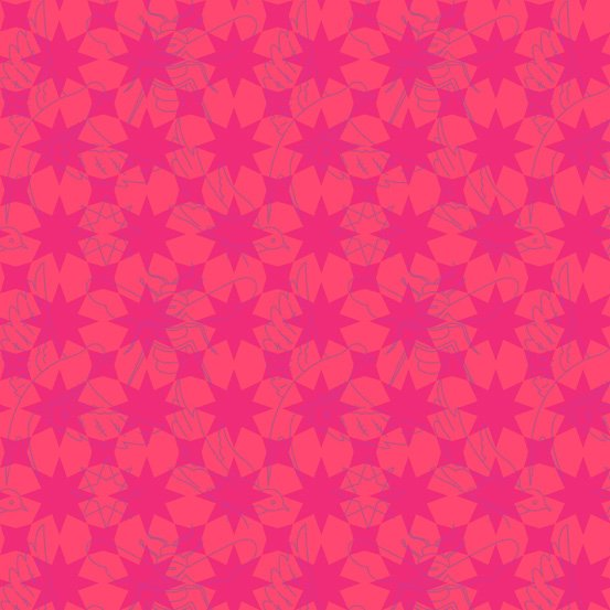 A8446 R POMEGRANATE  SEVENTY SIX BY ALISON GLASS FOR ANDOVER FABRICS