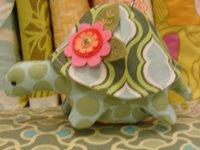 Henrietta Turtle Pincushion by Heather Bailey