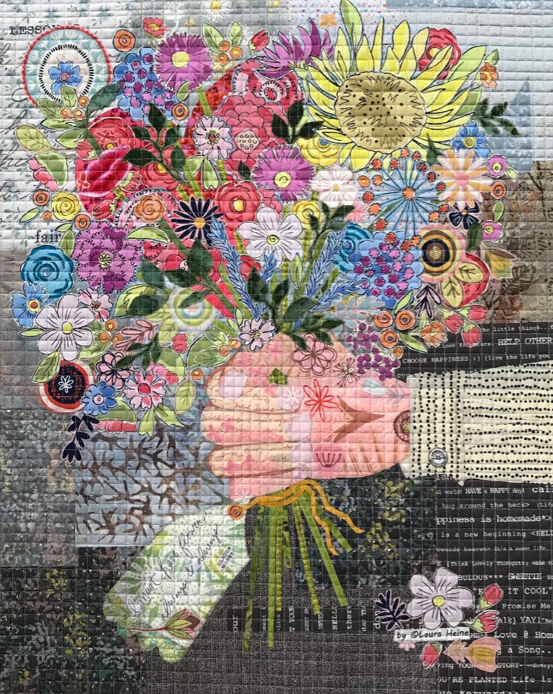 Always & Always Collage Quilt Pattern by Laura Heine