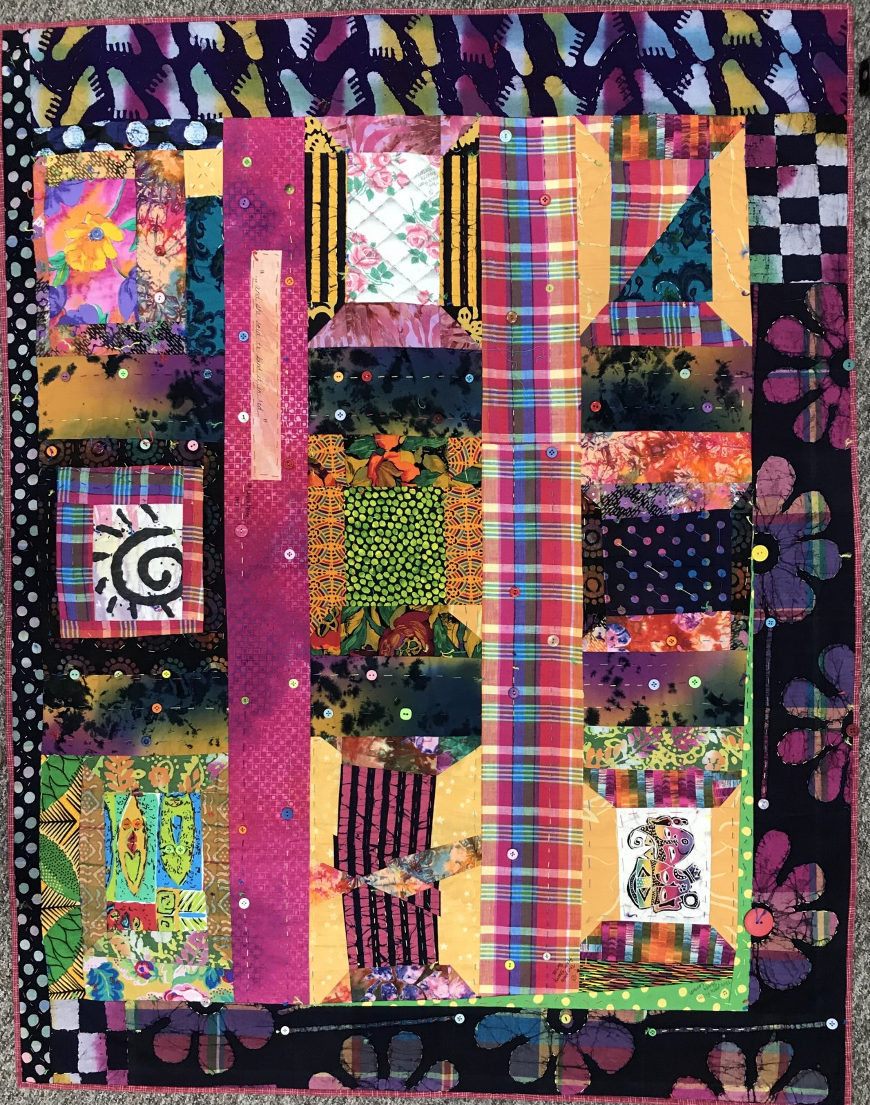 And She Said......Quilt Lauras Destash