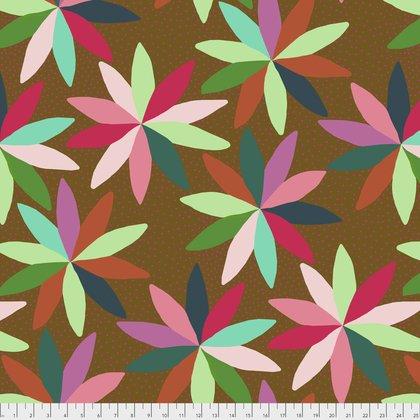 Anna Maria Horner Mod Corsage Observations Fabric in Indigo PWAH109