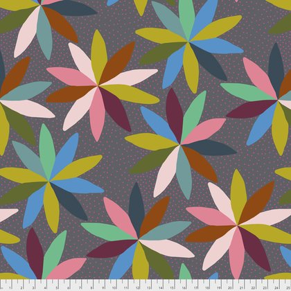 PWAH127 JUMP  PASSIONFLOWER BY ANNA MARIA HORNER FOR FREE SPIRIT FABRICS