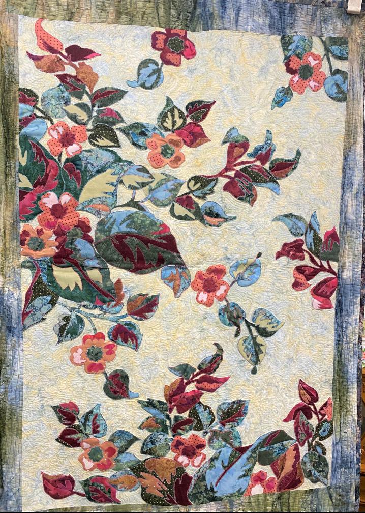 Apple Flower Quilt Laura's Destash