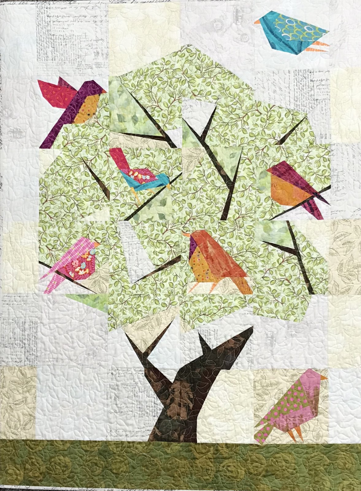 Audubon Society Quilt Lauras Destash