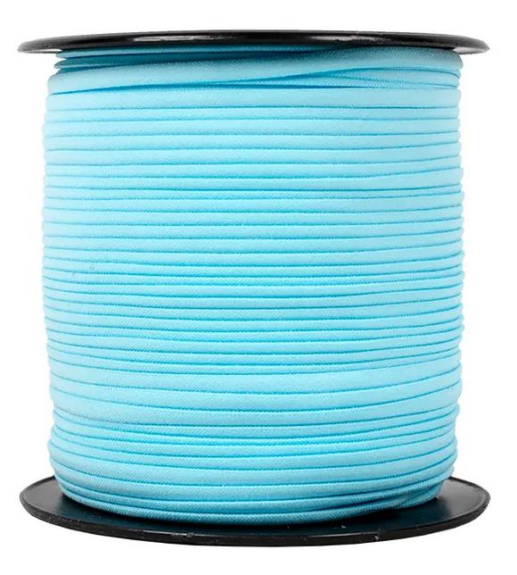 1/6 Banded Stretch Elastic Blue
