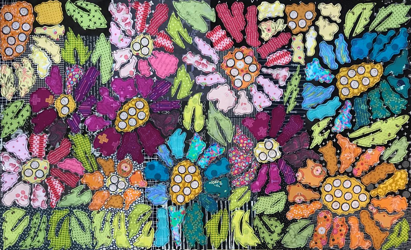 Boho Blooms Pattern #2 BOM by Laura Heine