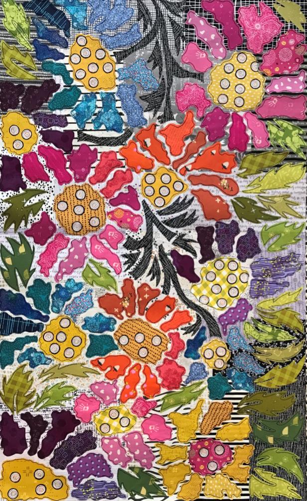 Boho Blooms Pattern #3 BOM by Laura Heine