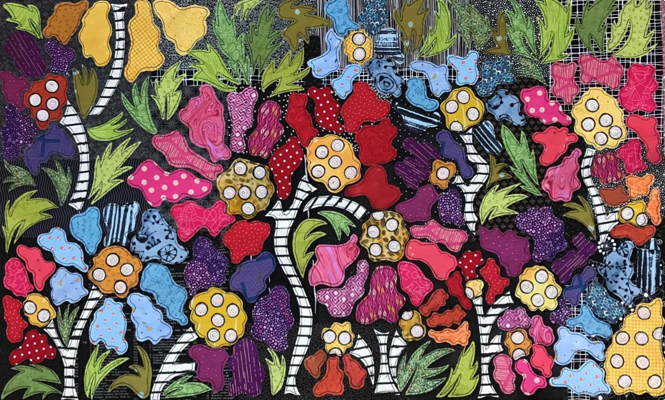 Boho Blooms Pattern #4 BOM by Laura Heine