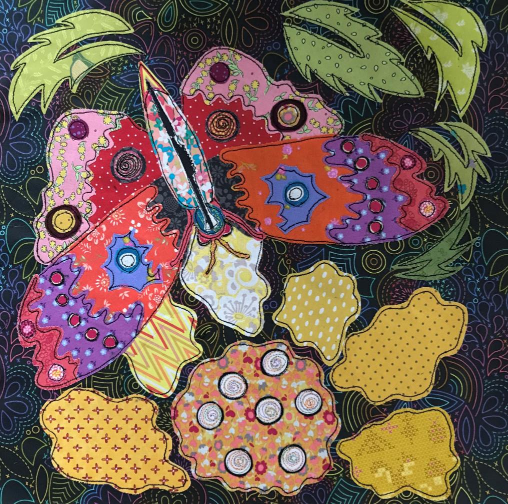 Boho Blooms Kit #5 BOM by Laura Heine