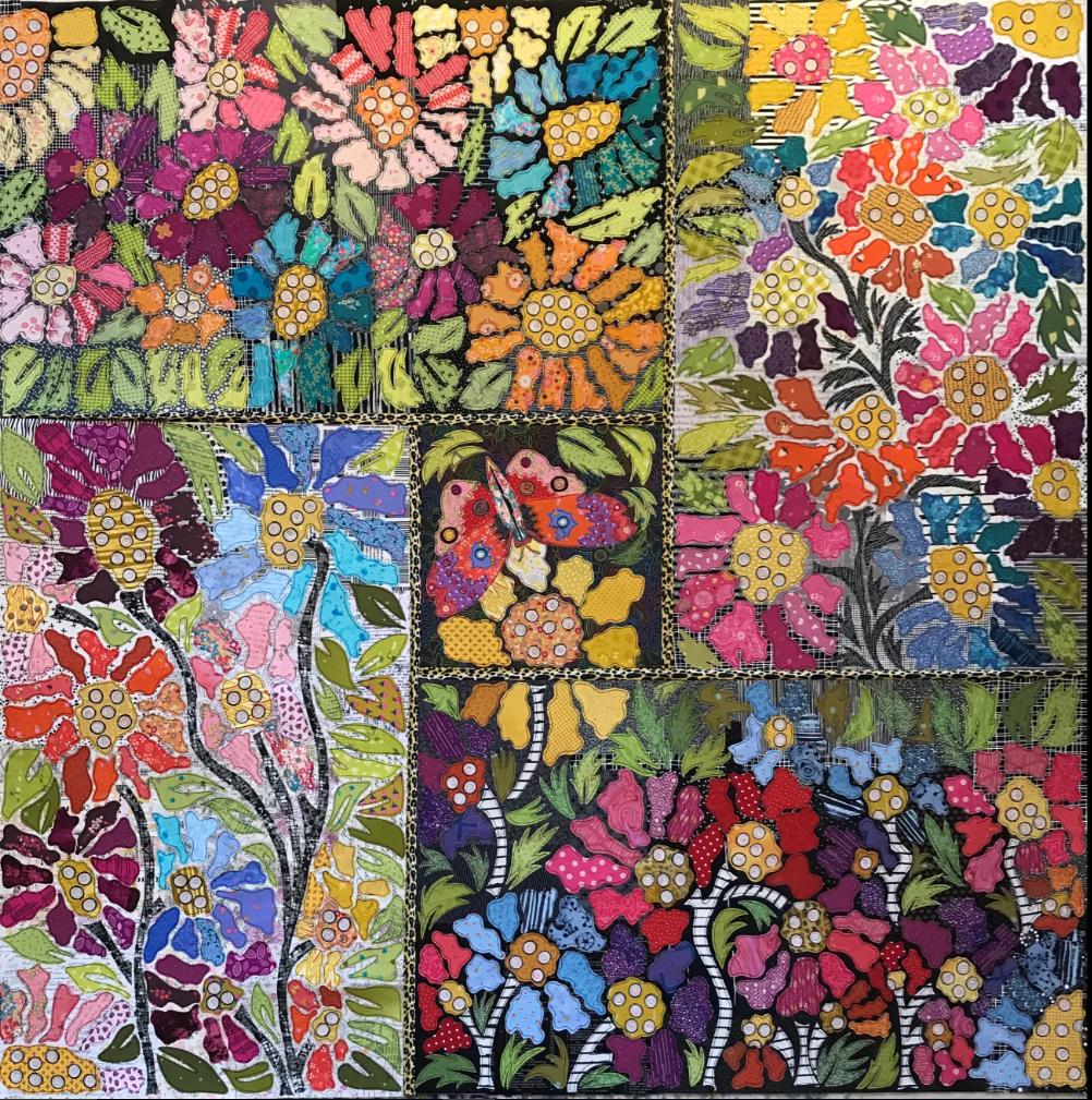 Boho Blooms Pattern #5 BOM by Laura Heine