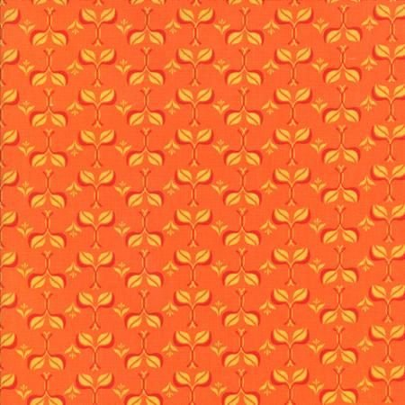 11496 19 Fancy Sunny Orange Spice by Lily Ashbury for Moda Fabri